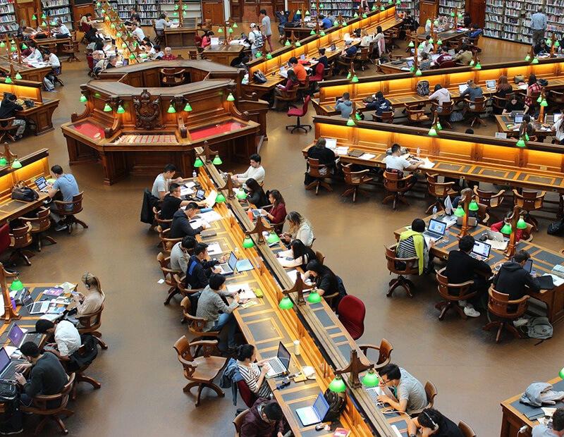 海外の大学の図書館
