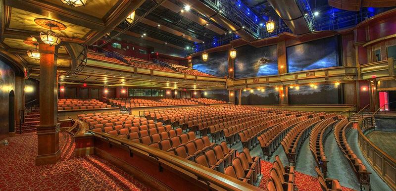 ミュージカルやコンサートが開かれる演劇場