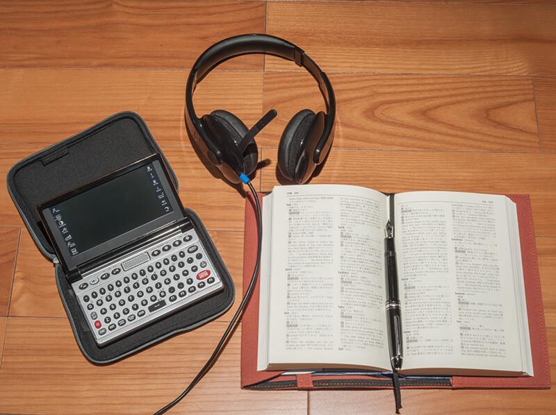 オンライン英会話レッスン後に聴き直す録音